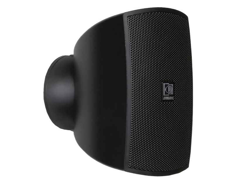 """Audac Compact wall speaker with CleverMount™ 2"""" Black version - 8Ω"""