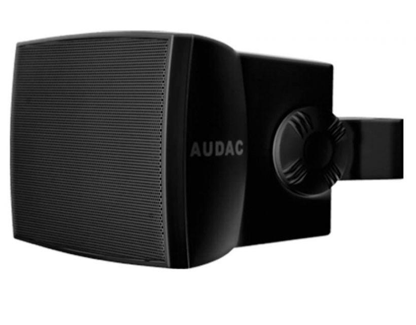 "Audac Outdoor wall speaker 8"" Black version"