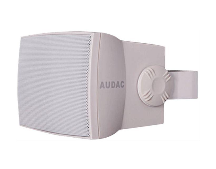 "Audac Outdoor wall speaker 5 1/4"" White version"