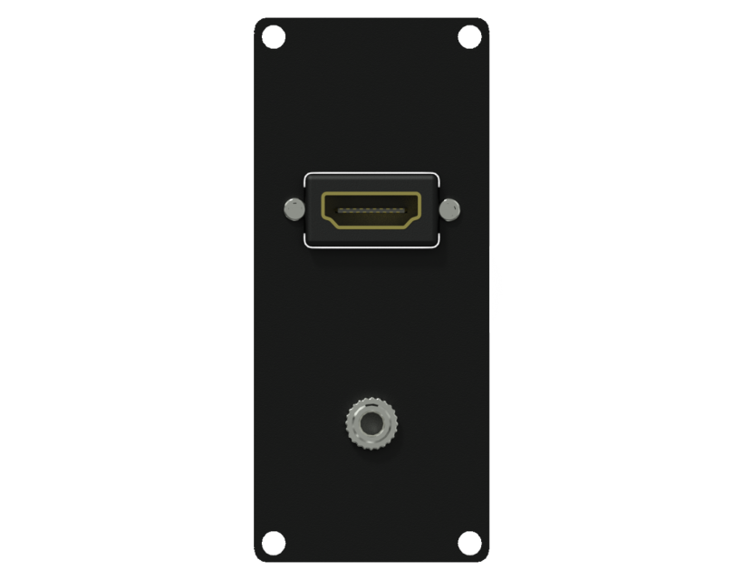 Caymon Casy 1 Space HDMI & 3.5mm JACKgender - Black