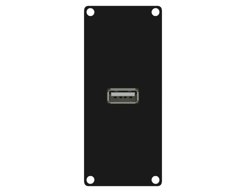 Caymon Casy 1 Space USB 2.0 A Gender - Black