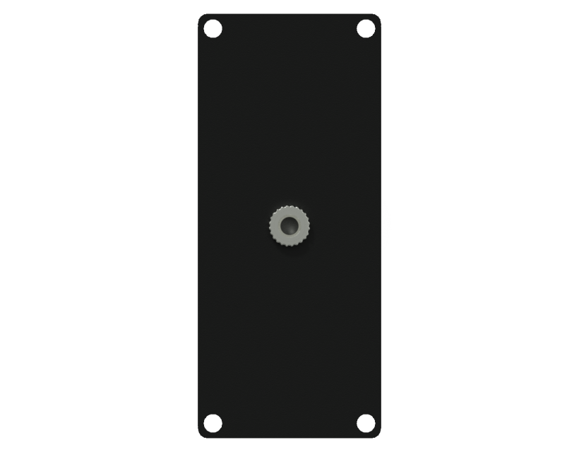 Caymon Casy 1 Space With 3.5mm JACK To 3-Pin Tb - Black