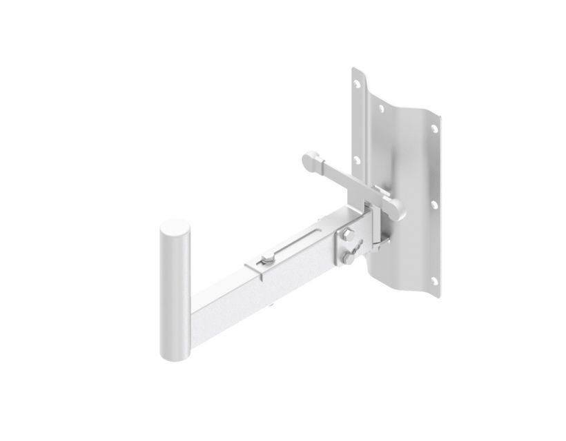 Caymon Speaker Wall Mount Bracket - 35mm Pole - 350mm - White