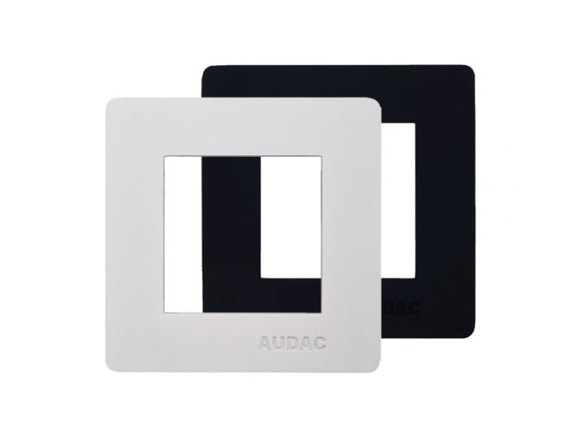 AUDAC COVER FRAME FOR 45x45MM WALL PANEL - 1 UNIT - WHITE
