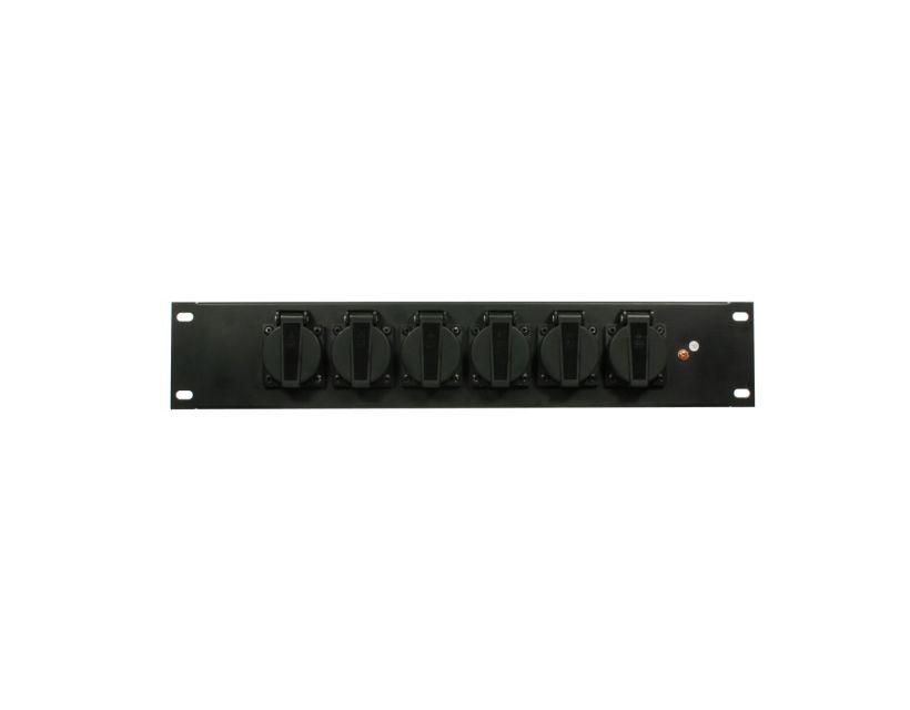 Elation SD 6R schuko Rack Schuko Panel