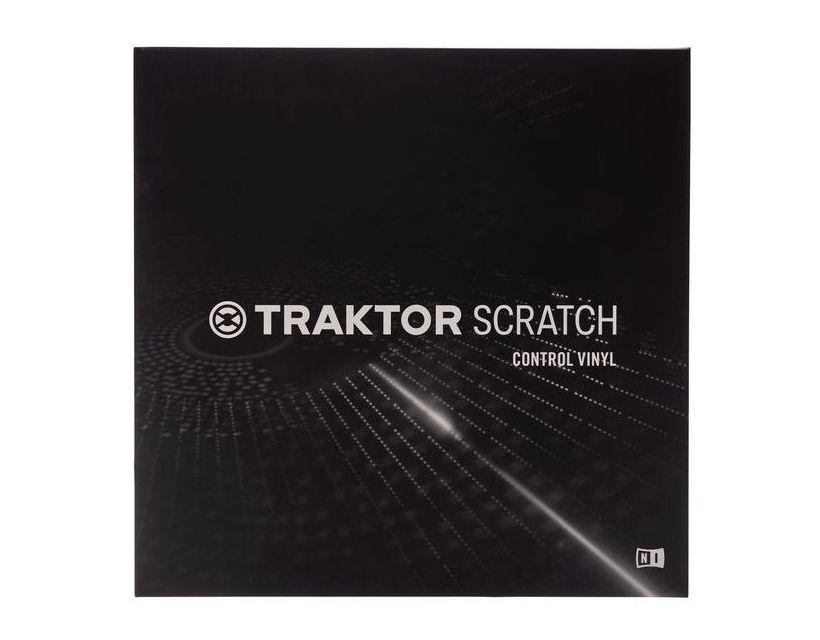 Native Instruments Traktor Scratch Control Vinyl MK1 (White)