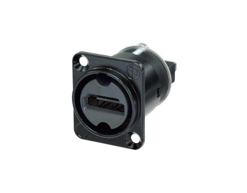 Neutrik HDMI 1.4 feedthrough NA-HDMI-W-B
