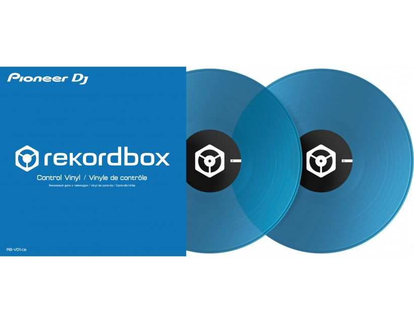 Pioneer DJ Rekordbox Control Vinyl (2xLP) Blue