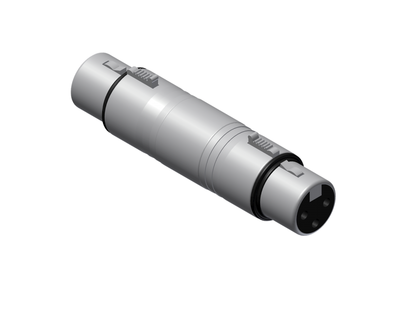 Procab Adapter - XLR female - XLR female Adapter