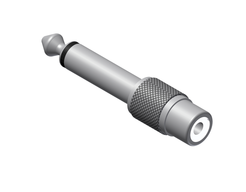 Procab Adapter - RCA/Cinch female - 6.3 mm Jack male mono Adapter