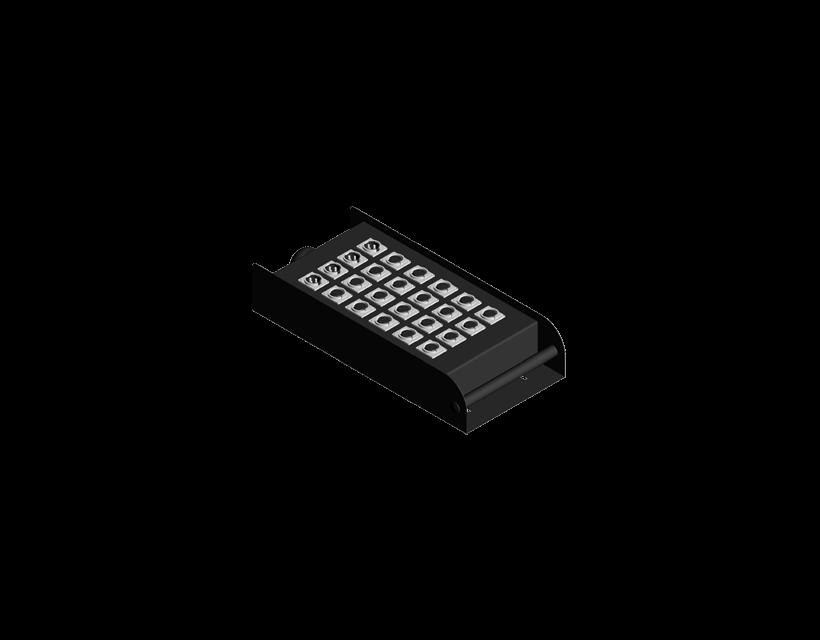 Procab Multi Connectionbox For 20 Inp. 4 Outp.