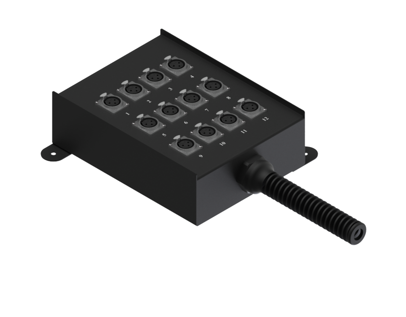 Procab Multi Stage Connectionbox For12 Inputs