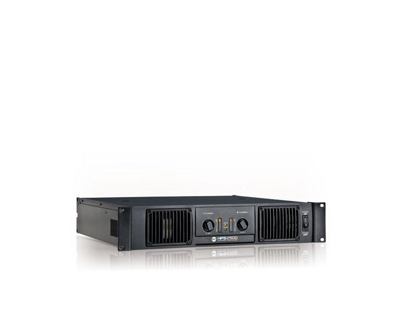 RCF HPS 2500 Class H power amplifier - 2x1100 W RMS @ 4 ohm