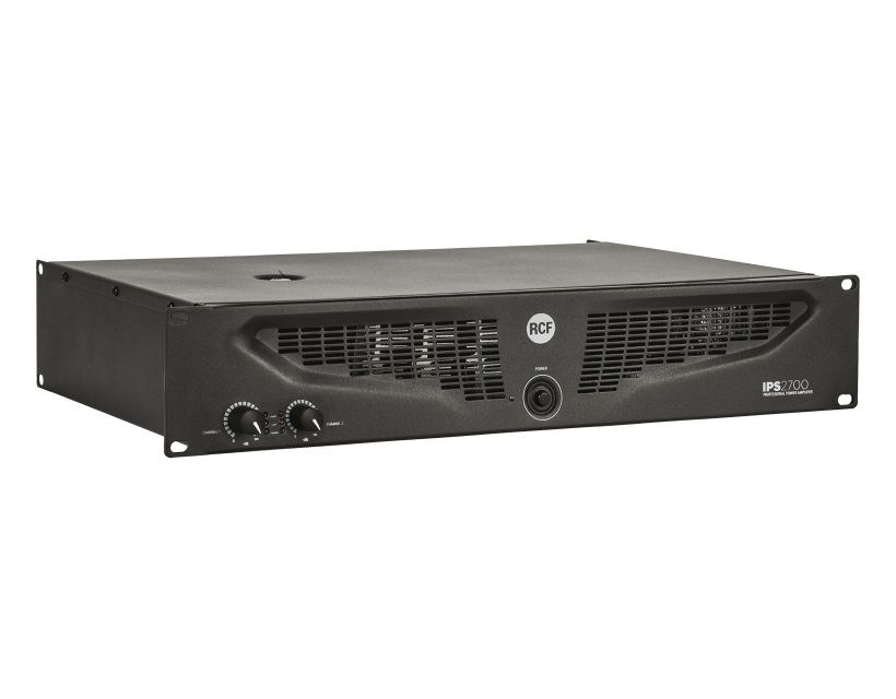 RCF IPS 2700 Class H power amplifiers - 2x1050 W RMS @ 4 ohm