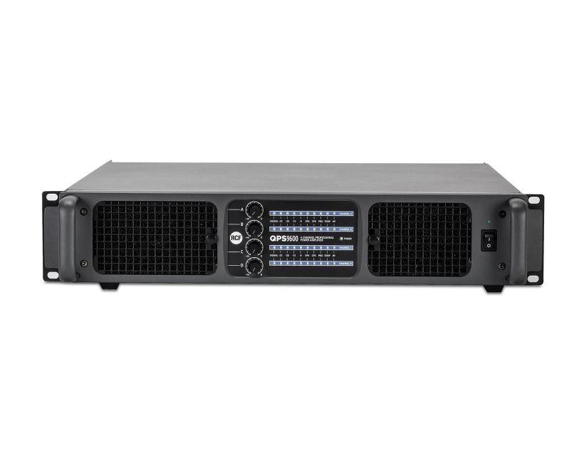 RCF QPS 9600 Class HD power amplifier - 2x2400 W RMS @ 2 ohm