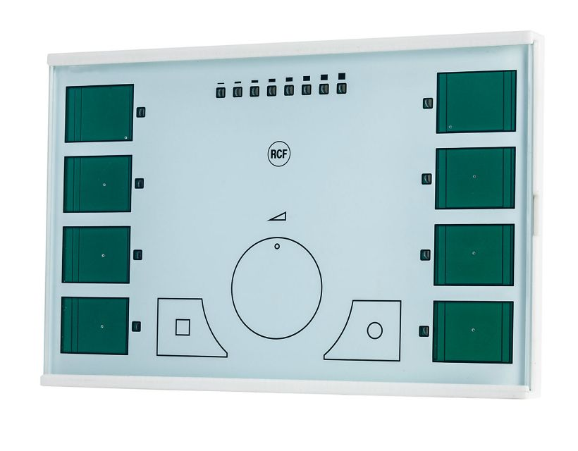RCF TS 9918-W Touch sensitive remote control for MZ8060 - white