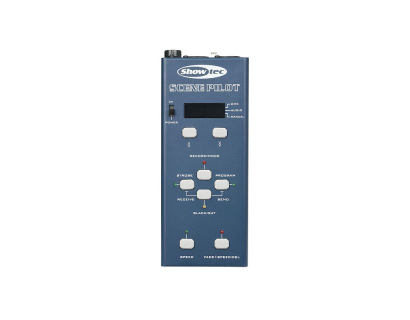 Showtec Scene Pilot Stand-alone DMX recorder