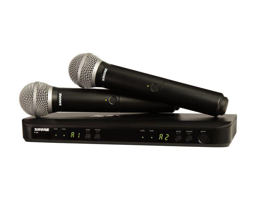 Shure BLX288E/PG58 M17 (662-686 MHz)