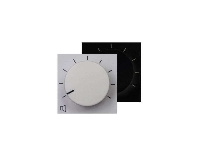 AUDAC VOLUME REMOTE WALL PANEL FOR SX408A - 45X45MM - WHITE ühendusplaat