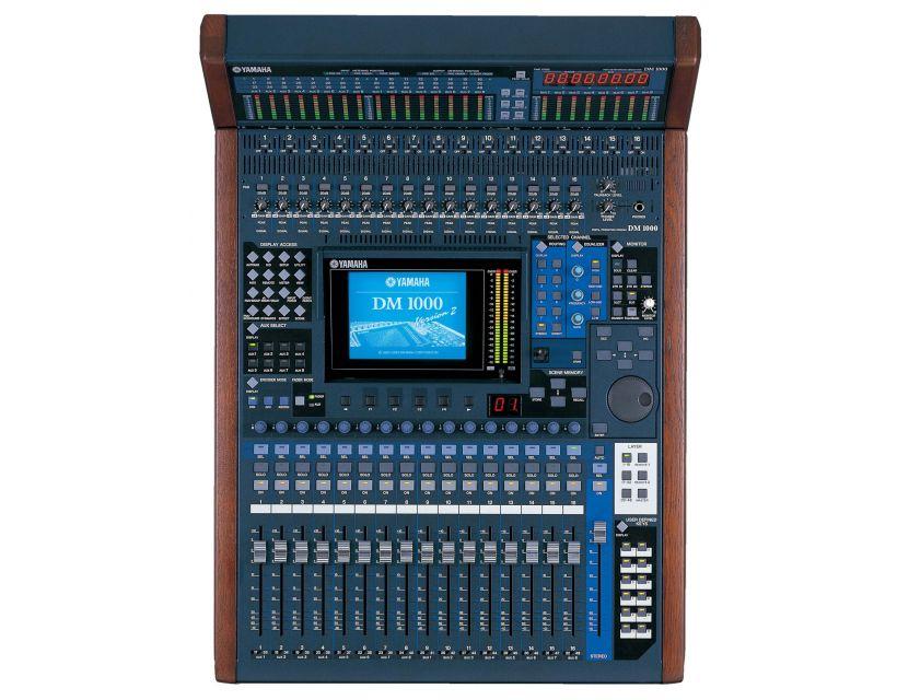 Yamaha DM1000VCM digital recording mixer