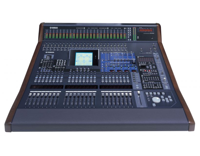 Yamaha DM2000VCM digital recording mixer