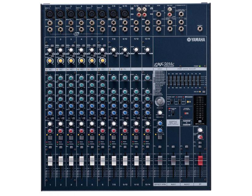 Yamaha EMX 5014C powered mixer