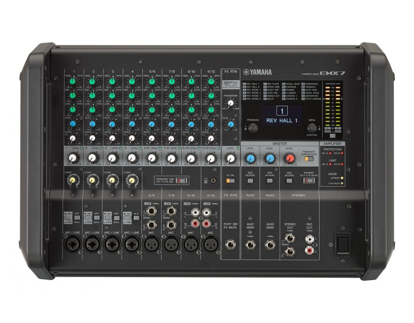 Yamaha EMX 7