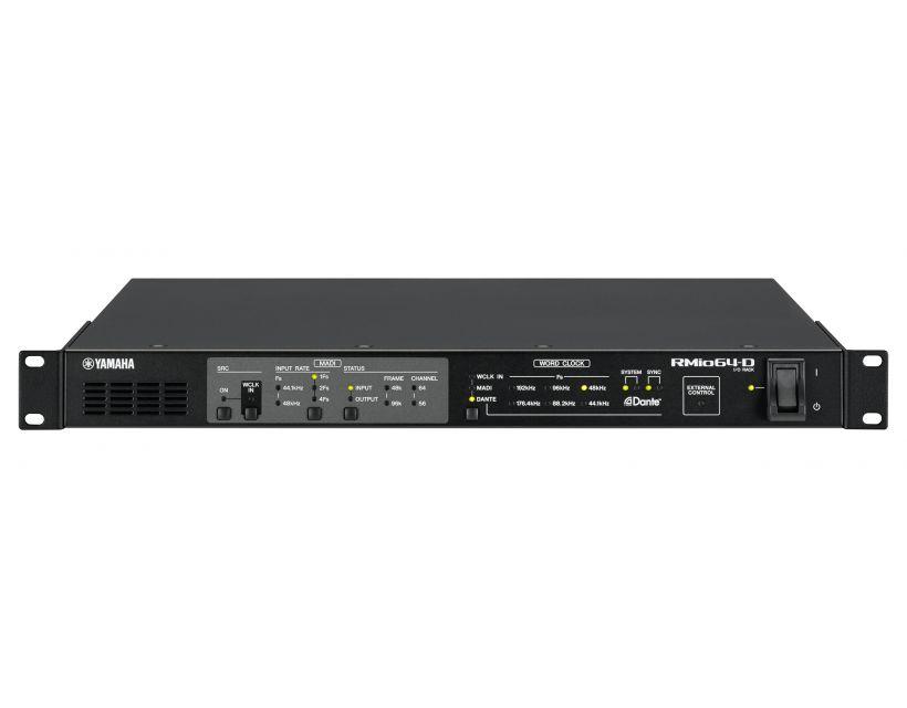 Yamaha RMIO64-D DANTE/MADI conversion
