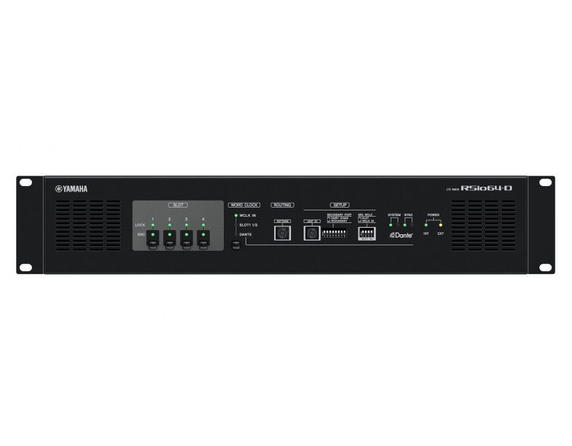 Yamaha RSIO64-D DANTE/Mini-YGDAI card conversion