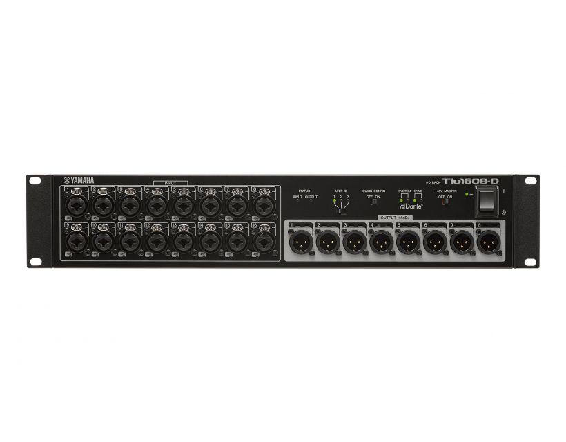 Yamaha TIO1608-D Plug In & Play Dante Stagebox