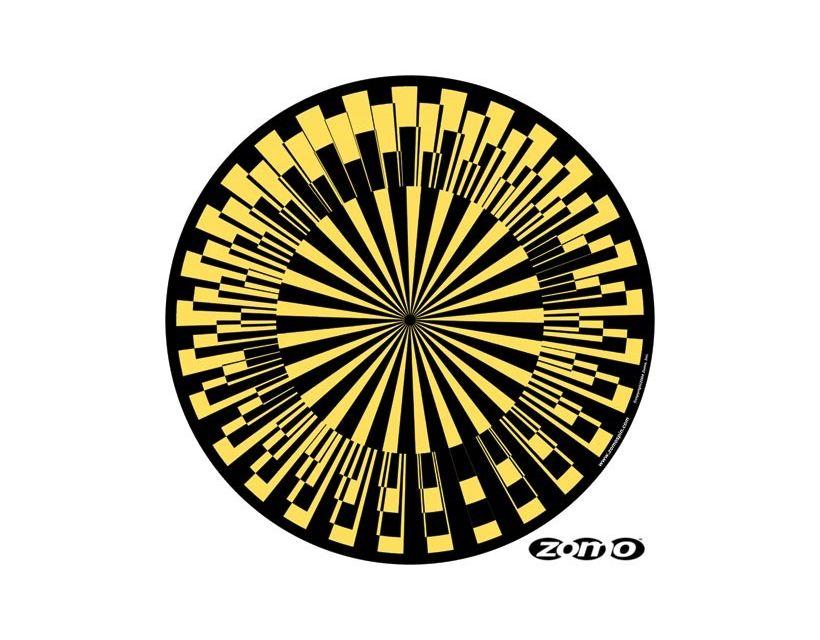 Zomo Slipmat Scope yellow (paar)